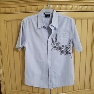 Hurley Button Down, sz Small